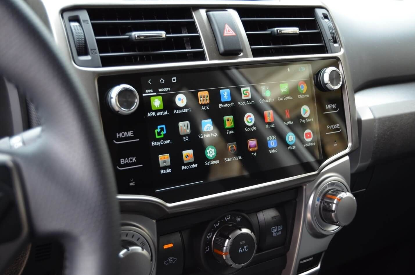 Android Head Unit Upgrade On 5th Gen 4runner Complete Dash Upgrade In 2020 4runner Head Unit 4runner Accessories