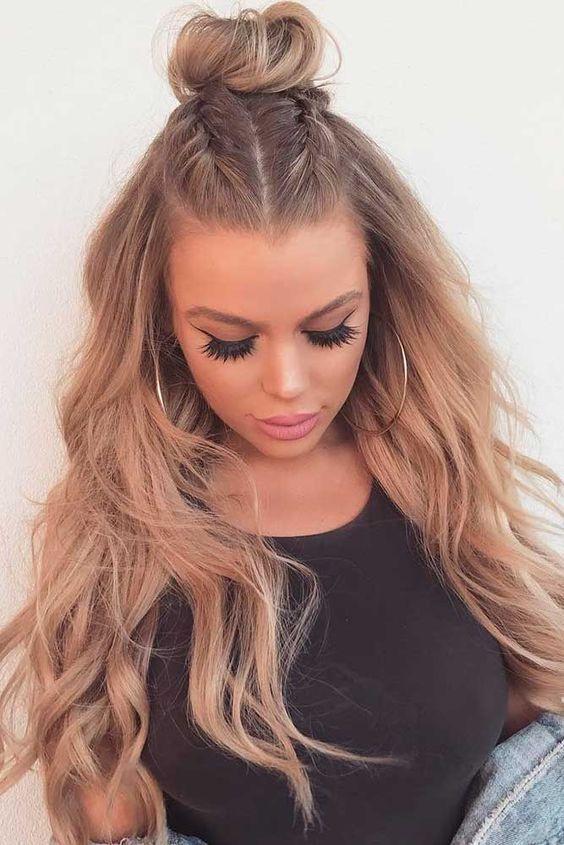 Superbe coupe et coiffure femme tendance 2018 cheveux en
