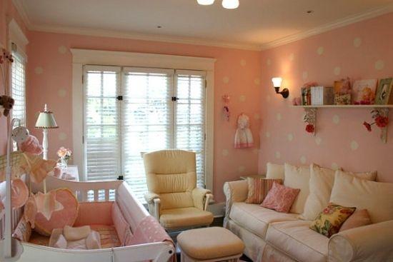 Wunderbar Wanddeko Punkte Ideen Kleines Babyzimmer Einrichten