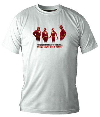 Camiseta chico Disfraz Flash - Varias tallas. #thebigbangtheory http://www.akibaclub.com/search/camiseta%20disfraz/