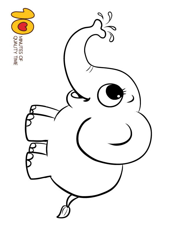 Elephant Coloring Page Coloring Pages Elephant Coloring Page Bunny Coloring Pages Shark Coloring Pages
