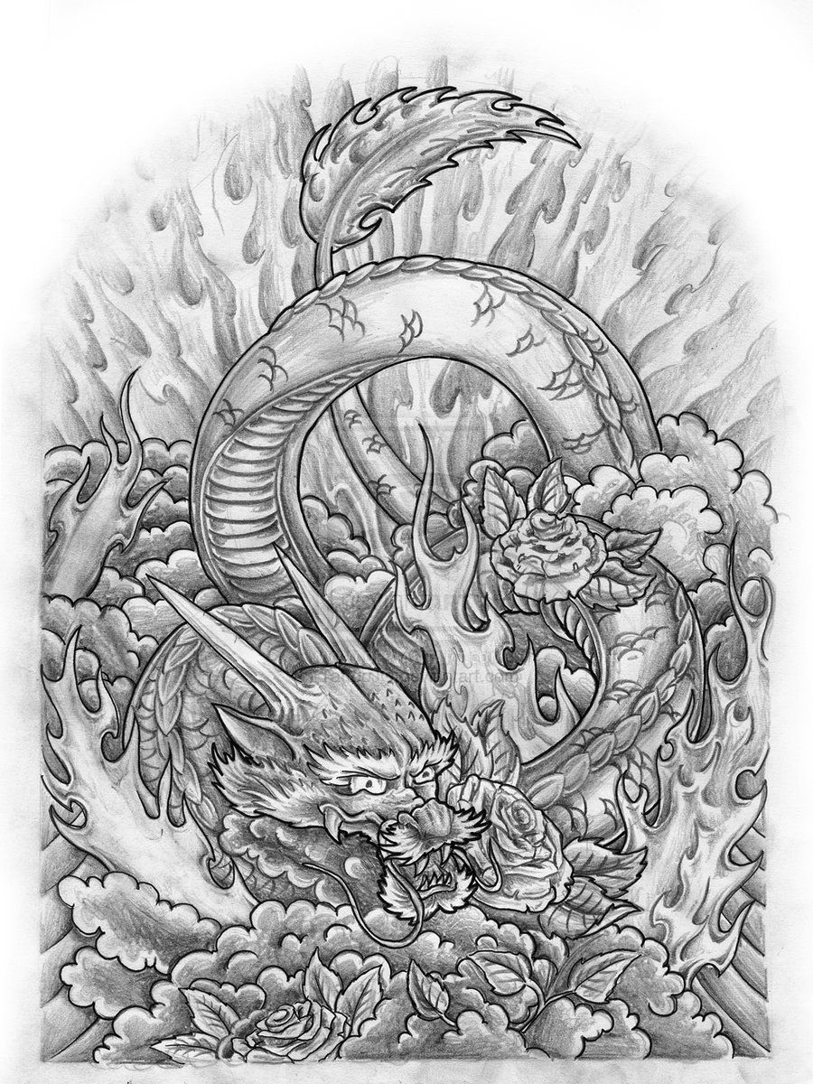 japanese dragon sleeve by jovictory deviantart com my type of art