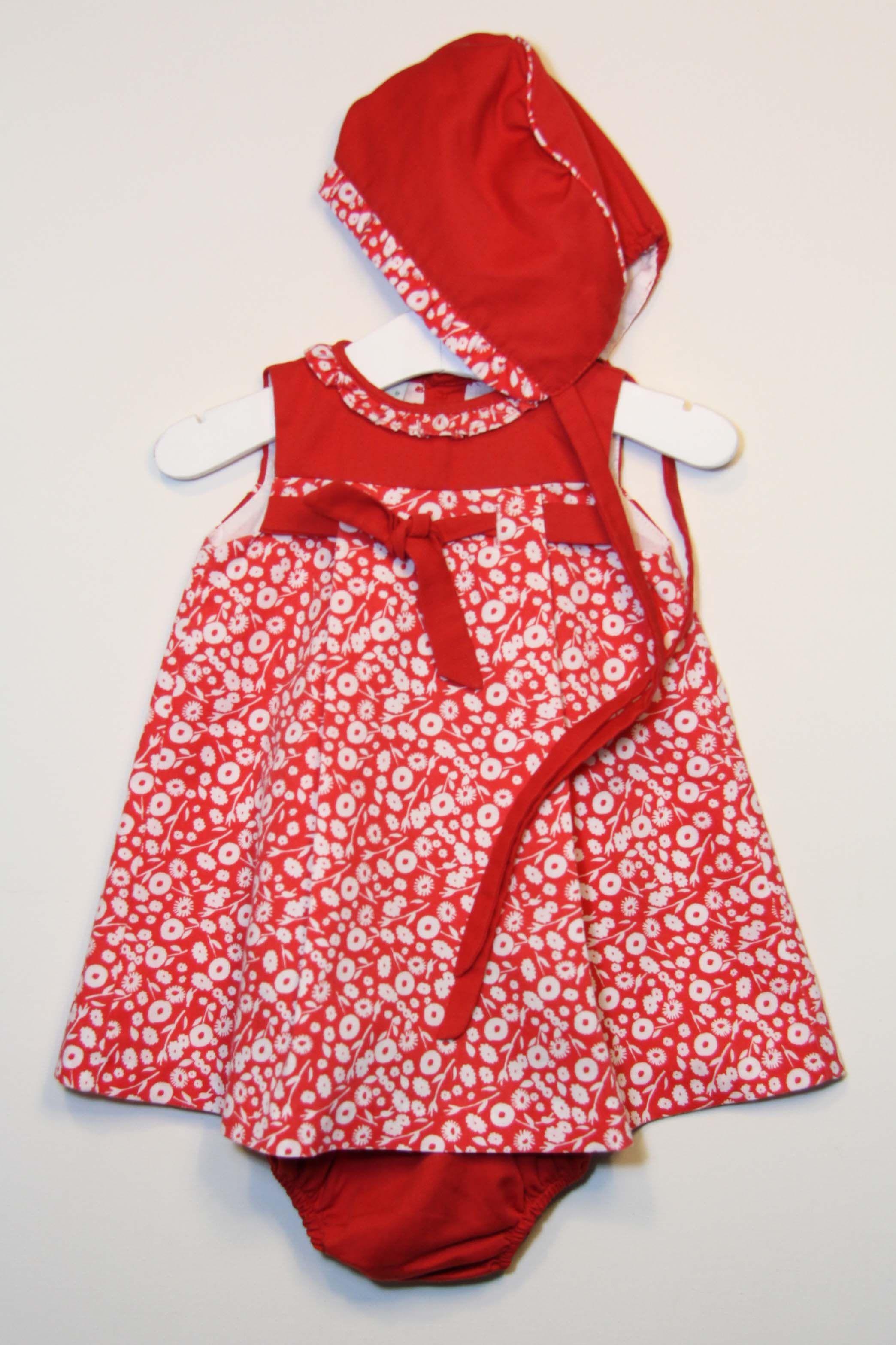 6f0c8625c Vestido 12 meses | Ropita de bebé niña | Ropa, Ropa bebe niña y ...