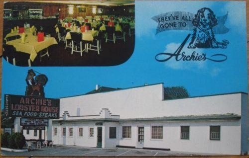 1973-Chrome-Archies-Restaurant-Roanoke-Virginia-VA