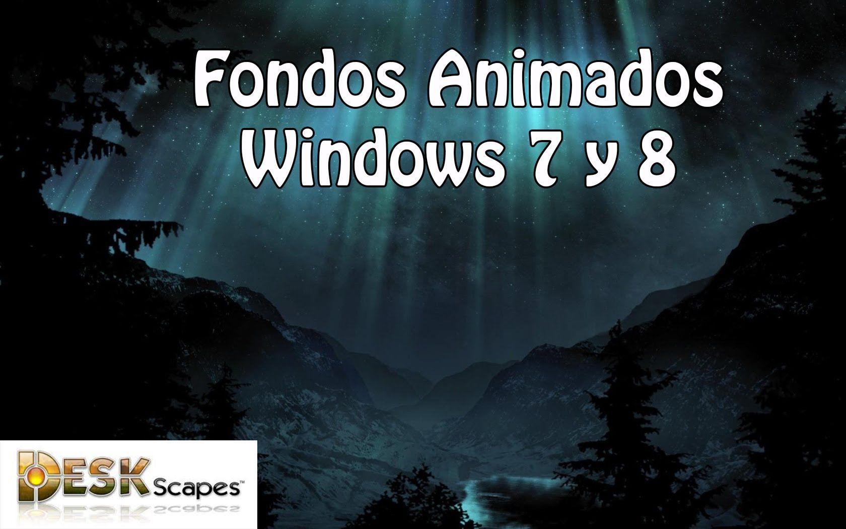 Fondos de escritorio animados para windows 8 1 8 7 youtube images wallpapers pinterest - Fondos de escritorio para windows 7 gratis ...