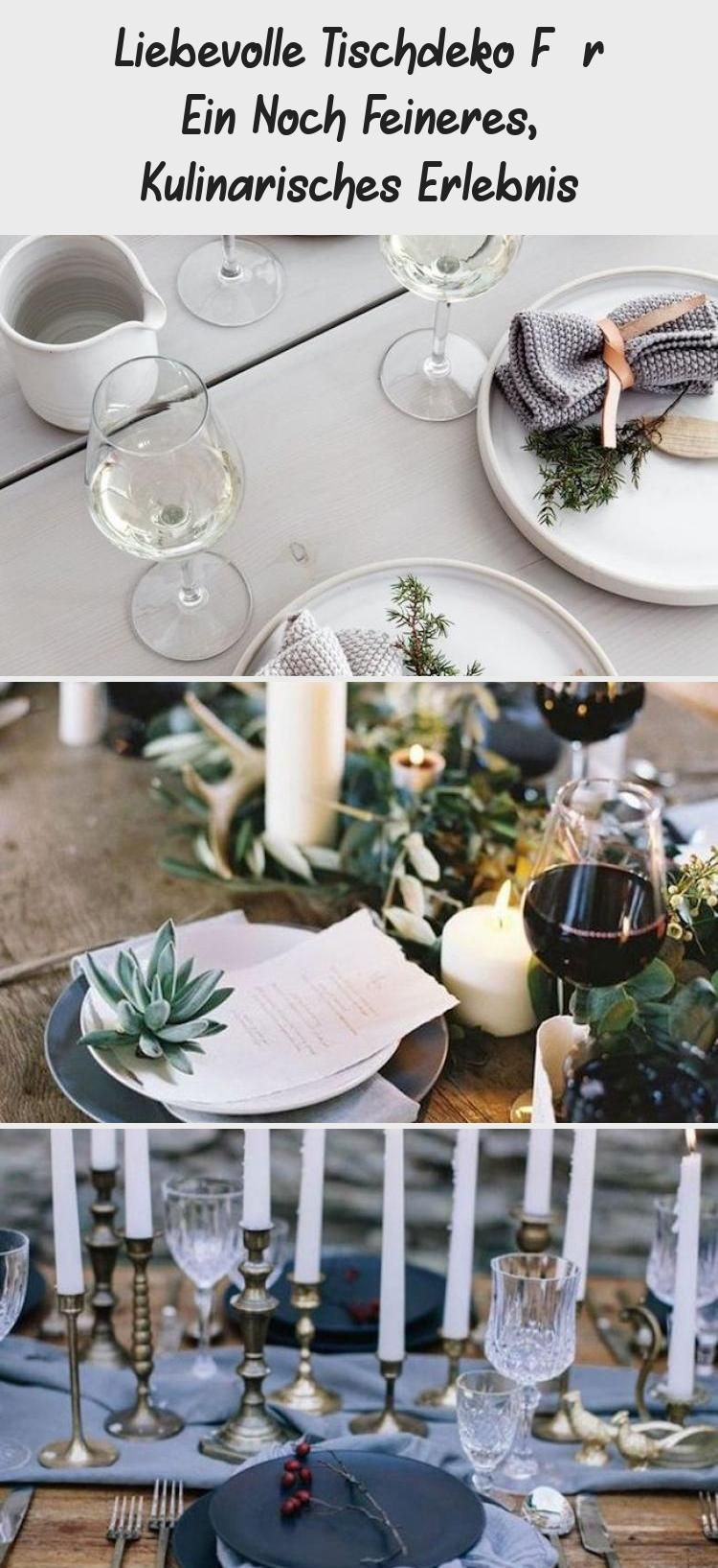 Photo of Liebevolle Tischdeko Für Ein Noch Feineres, Kulinarisches Erlebnis