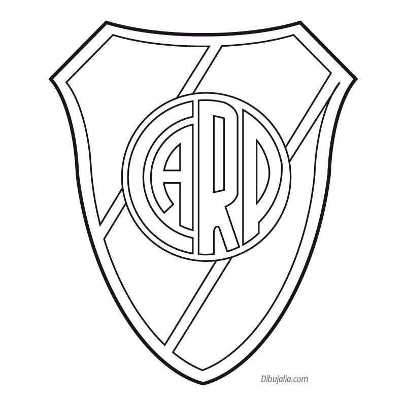 Escudo River Plate | manualidades | Pinterest | Tortilla, Fútbol y ...