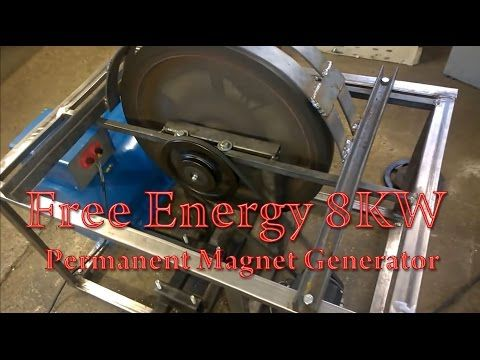 1 Generator Pmg Perpetuum Mobile Free Energy 8kw Test1 Youtube Free Energy Generator Free Energy Free Energy Projects