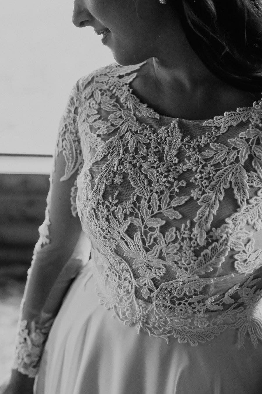 Lace long sleeve wedding dress wedding pinterest wedding dress