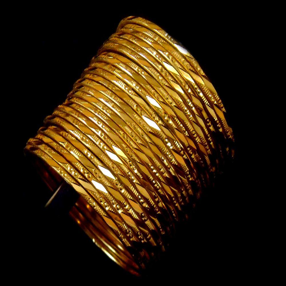 daily use gold bangles design - Google Search   Bangle love ...