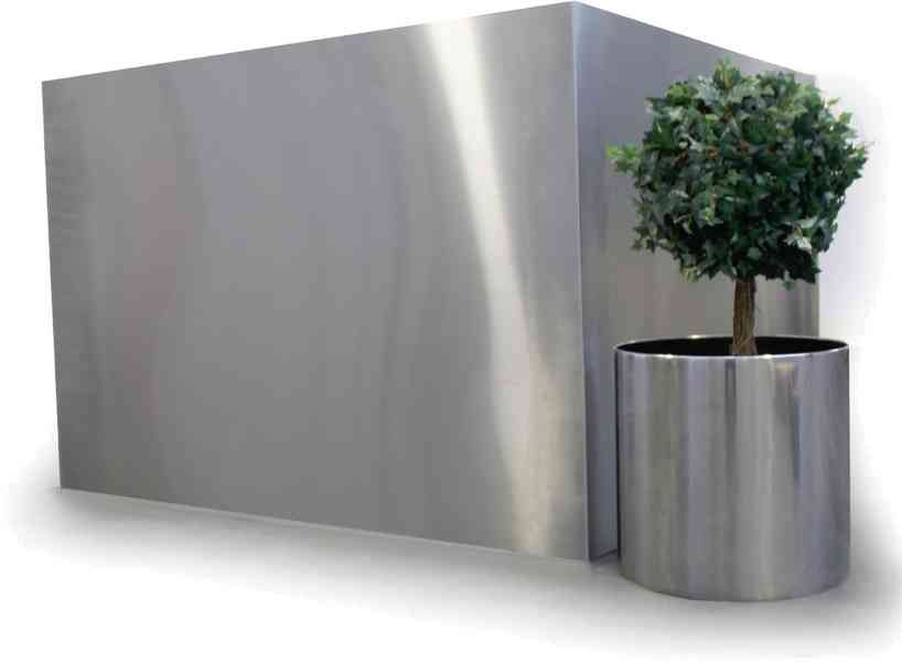 Superbe Stainless Steel Extra Large Fully Welded Planter Trough And Circular For  More Information Go To: