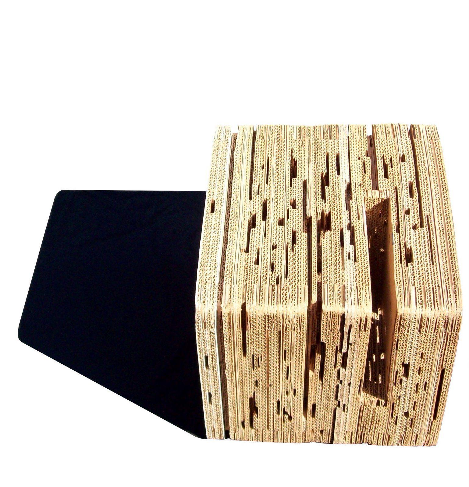 Dise O Cartonero Santiago Morahanla Eco Muebles Carton Reciclado  # Frank Gehry Muebles De Carton