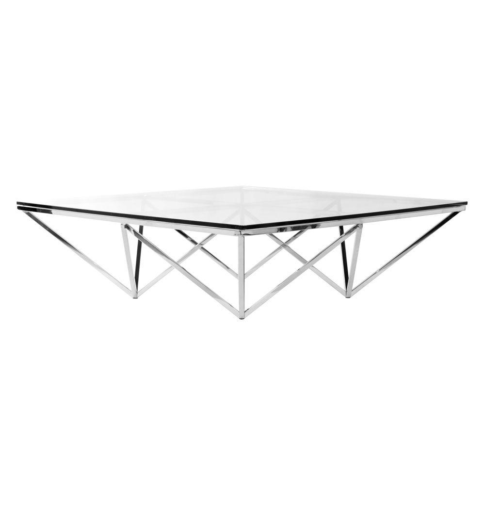 Matt Blatt Eames Coffee Table: Replica Nuevo Origami Square Coffee Table By Nuevo
