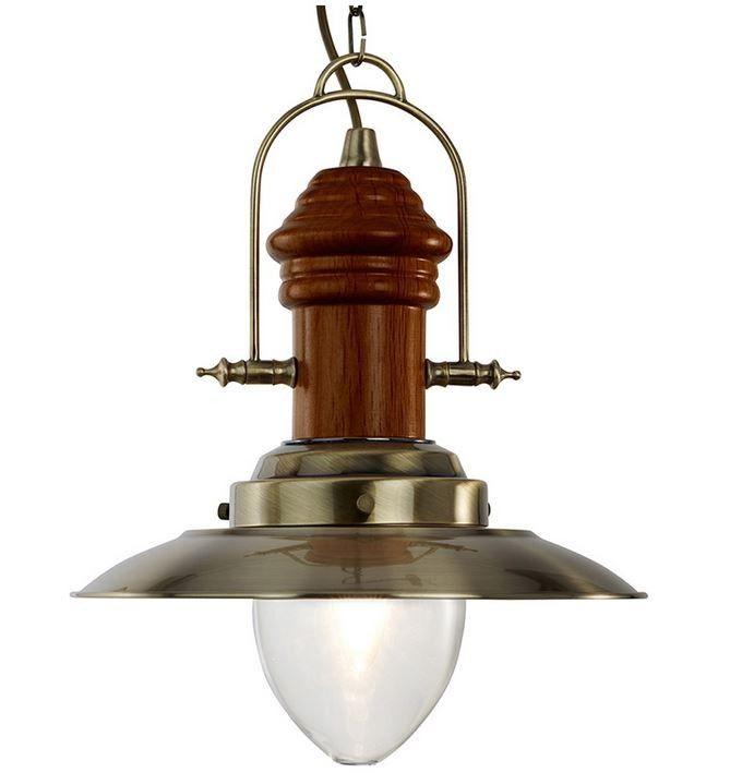 Lámpara de Techo Náutica Pescador - Latón   Lámparas nauticas ...