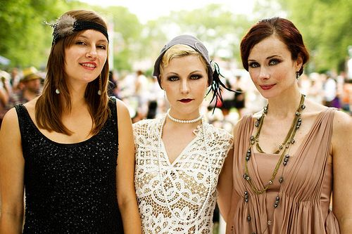 Jazz Age Lawn Party by Anna Fischer, via Flickr