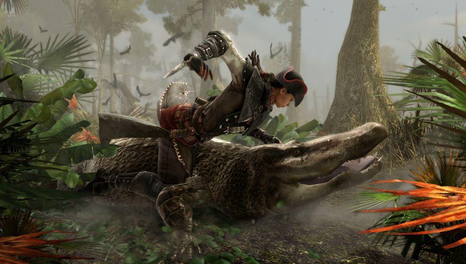 Assassins-Creed Liberation Aligator