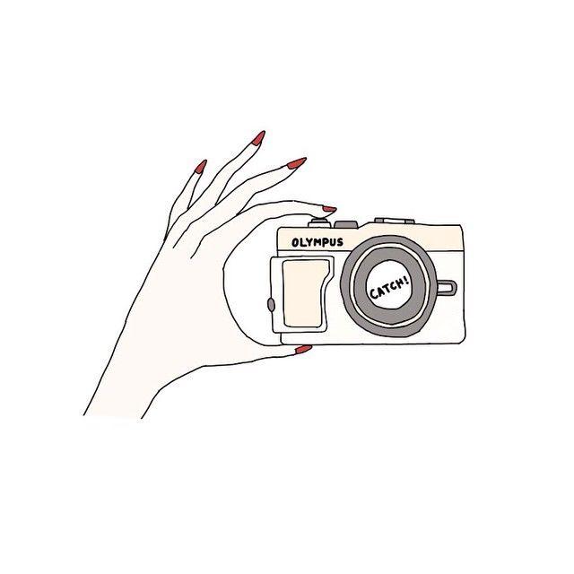 遂にカメラを買いましたolympuspenlitecameraillustrationart