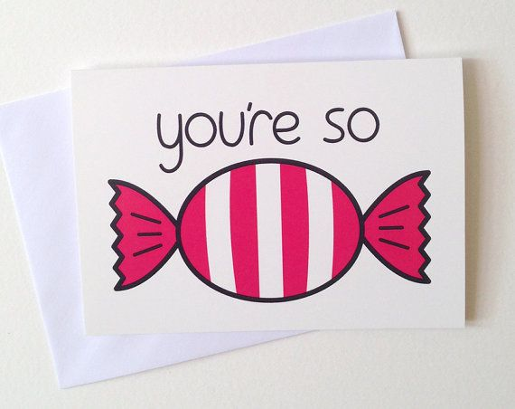 Cute anniversary card thank you card sweet birthday card