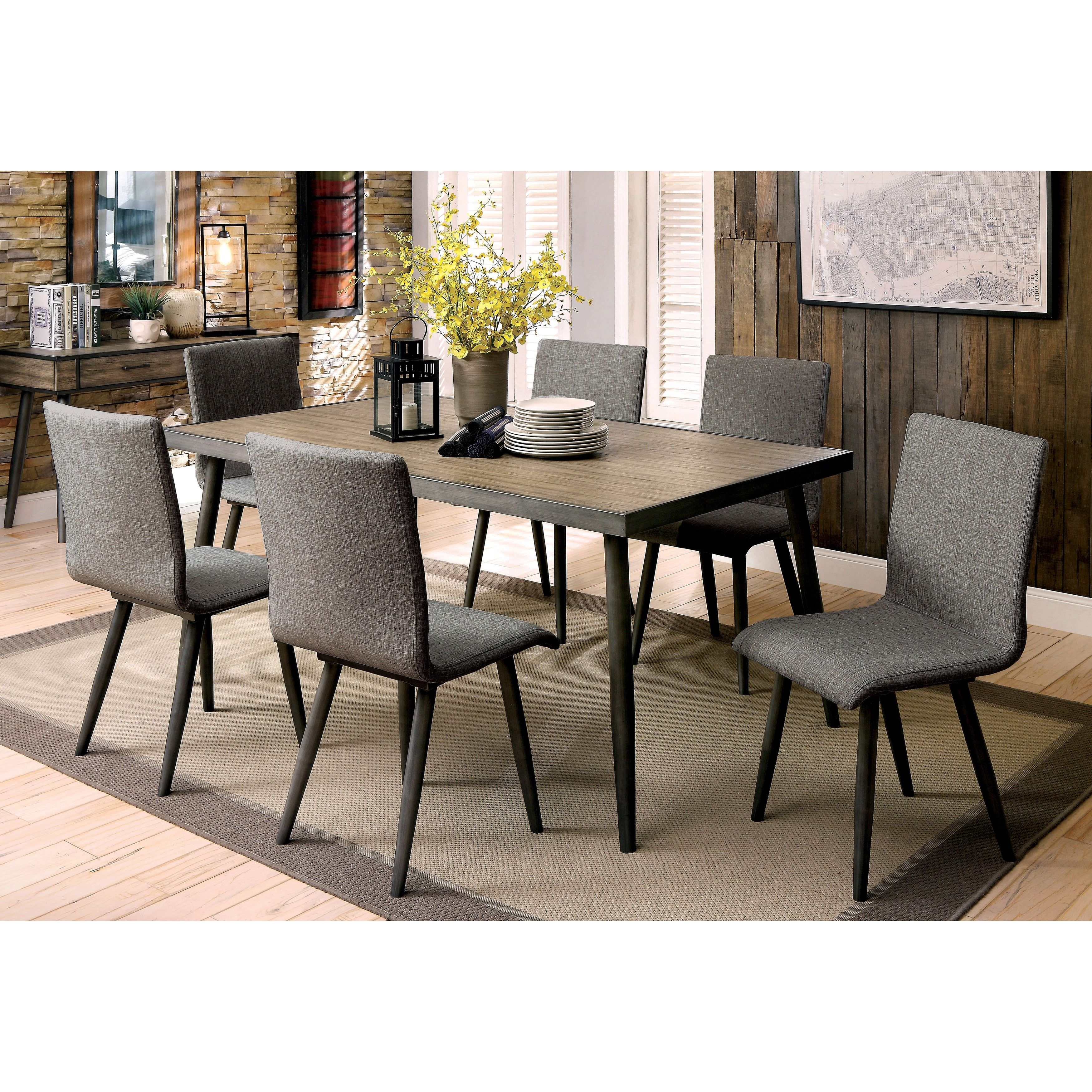 Creative Picture Of Industrial Kitchen Table And Chairs Meja