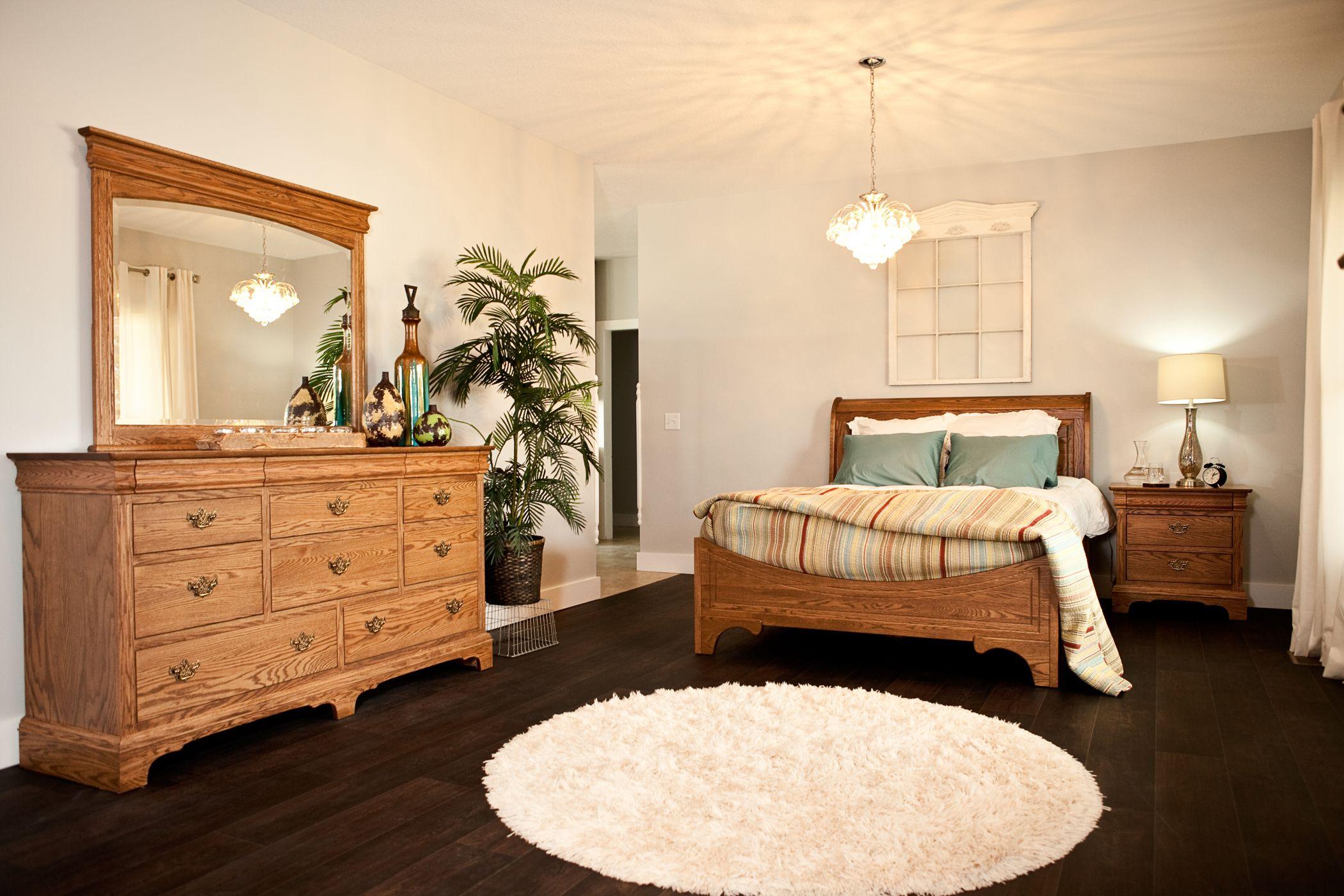 Edinburgh - Bedroom Set - EdinburghOakset from Oakwood ...