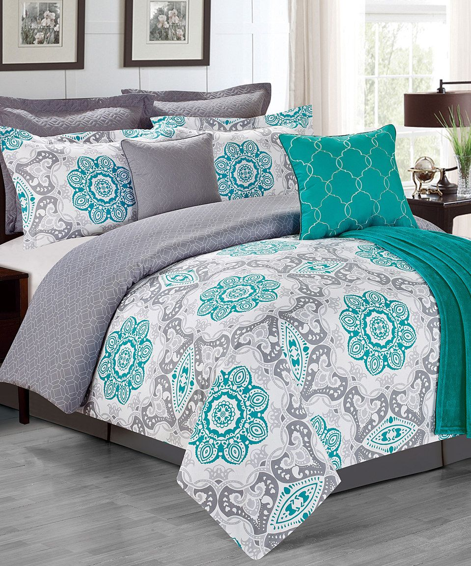 Love This Teal Sunrise Bedding Set By Chd Textiles On