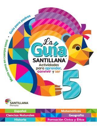 By Hugo Guzman Guia Santillana Libros De Quinto Grado Libros De Matemáticas