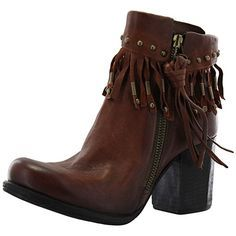 palacco bottines à franges femme airstep - as98 507225   Boots ... 72108c9972dd