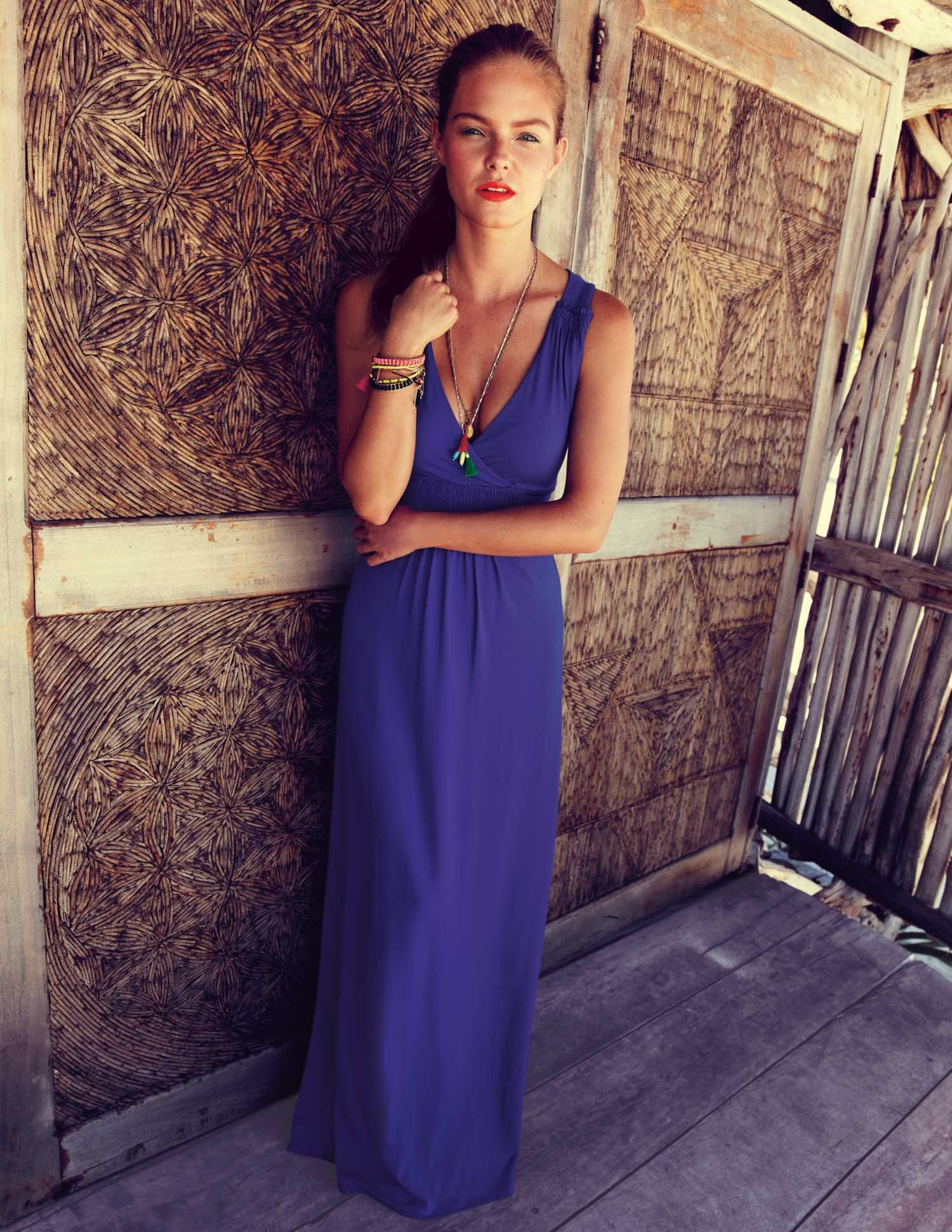 Jersey Maxi Dress. This looks gorgeous in the catalog. | My Style ...