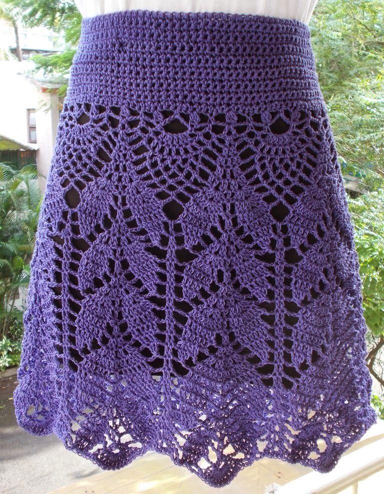 SIMPLY LOVELY SKIRT | Free crochet, Crochet and Patterns
