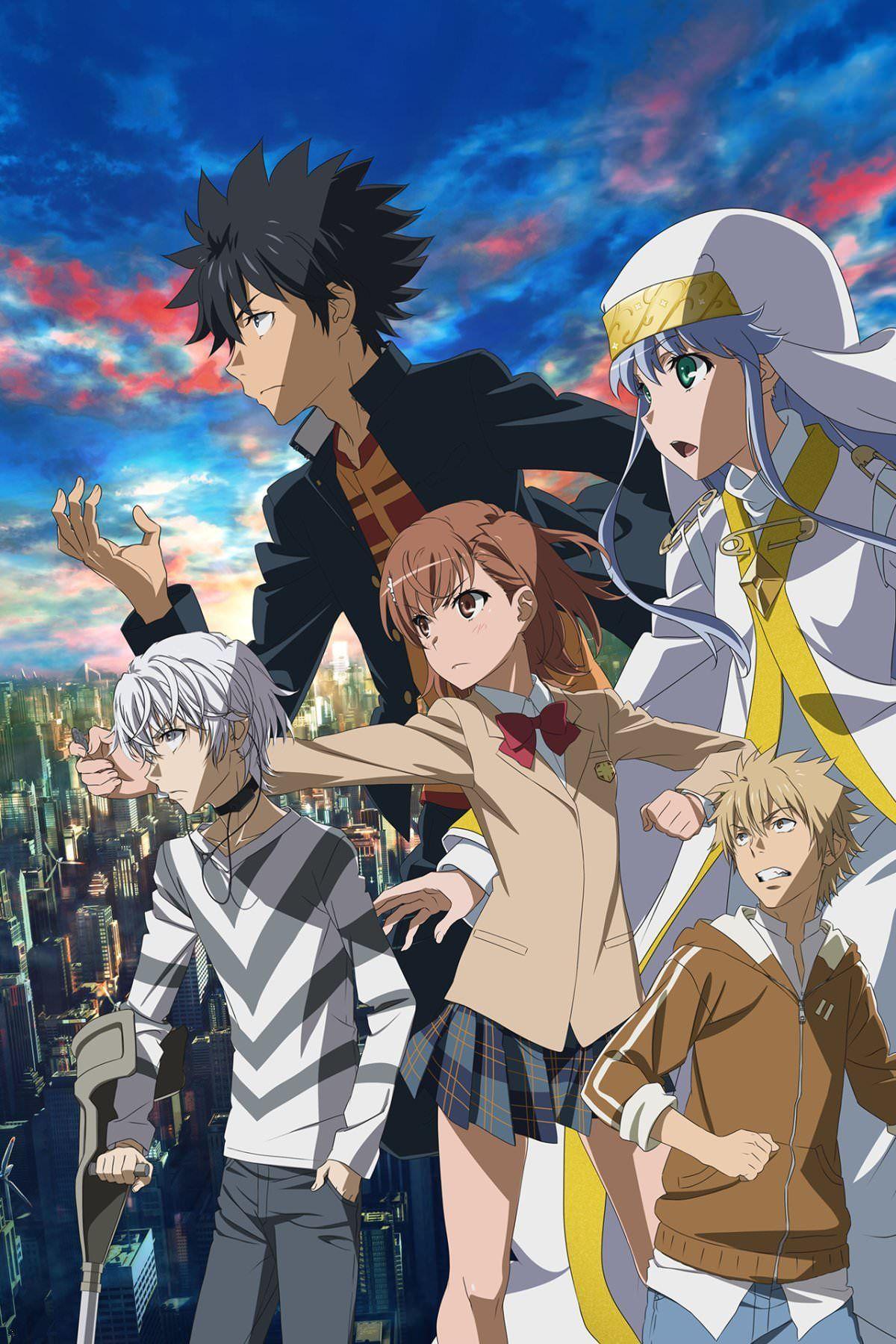 ปักพินโดย anime cartoon ใน To Aru Majutsu No Index