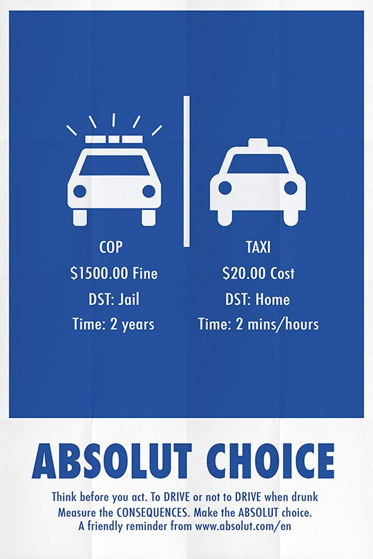 Absolut Anti Drink Driving Campaign Posters On Behance