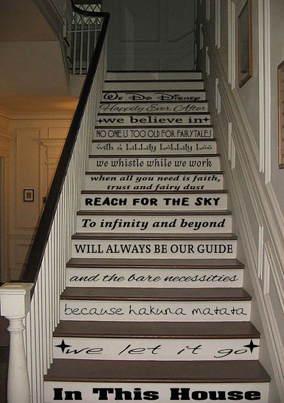 Lighting Basement Washroom Stairs: A Great Way To Brighten Up Your Staircase, Each Decal Is