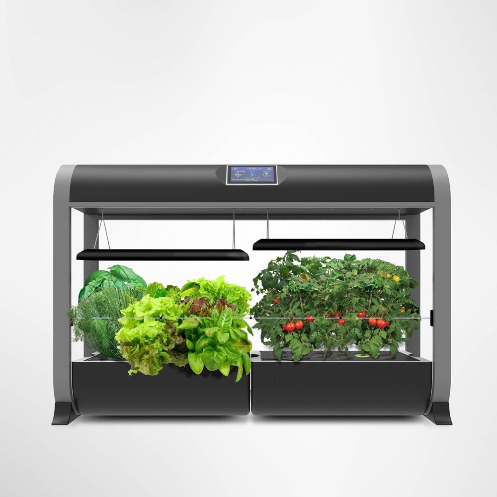 Aerogarden Farm With Salad Bar Seed Kit Black Smart 400 x 300