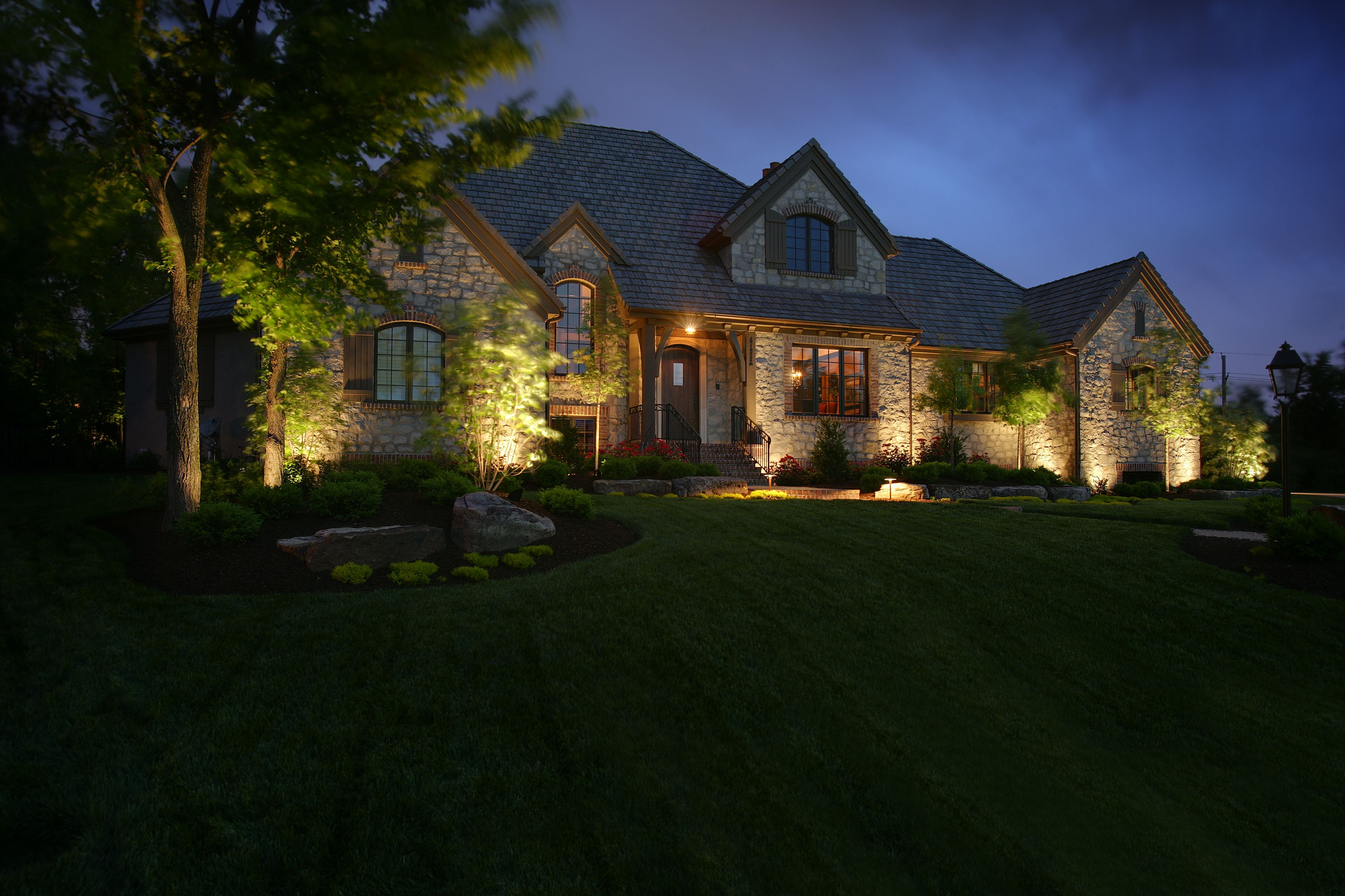 Outdoor Lighting Perspectives Of Augusta Beautiful Homes