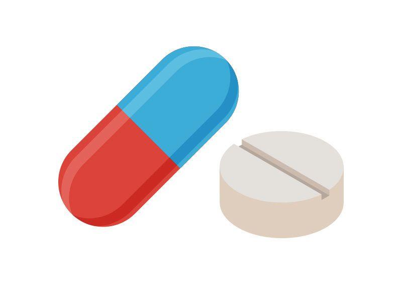 Pills Vector Illustration Medical Clip Art Medical Stickers Medical Art
