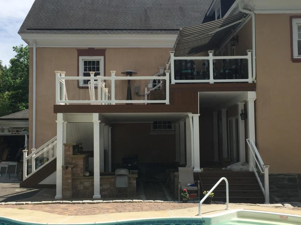 Photos   Great Railing   House styles, Railing, Glass railing