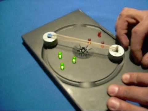418577cc81e Experimentos de Física   MINI GENERADOR DE CORRIENTE CONTINUA --  www.tallerdefisica.tk - YouTube