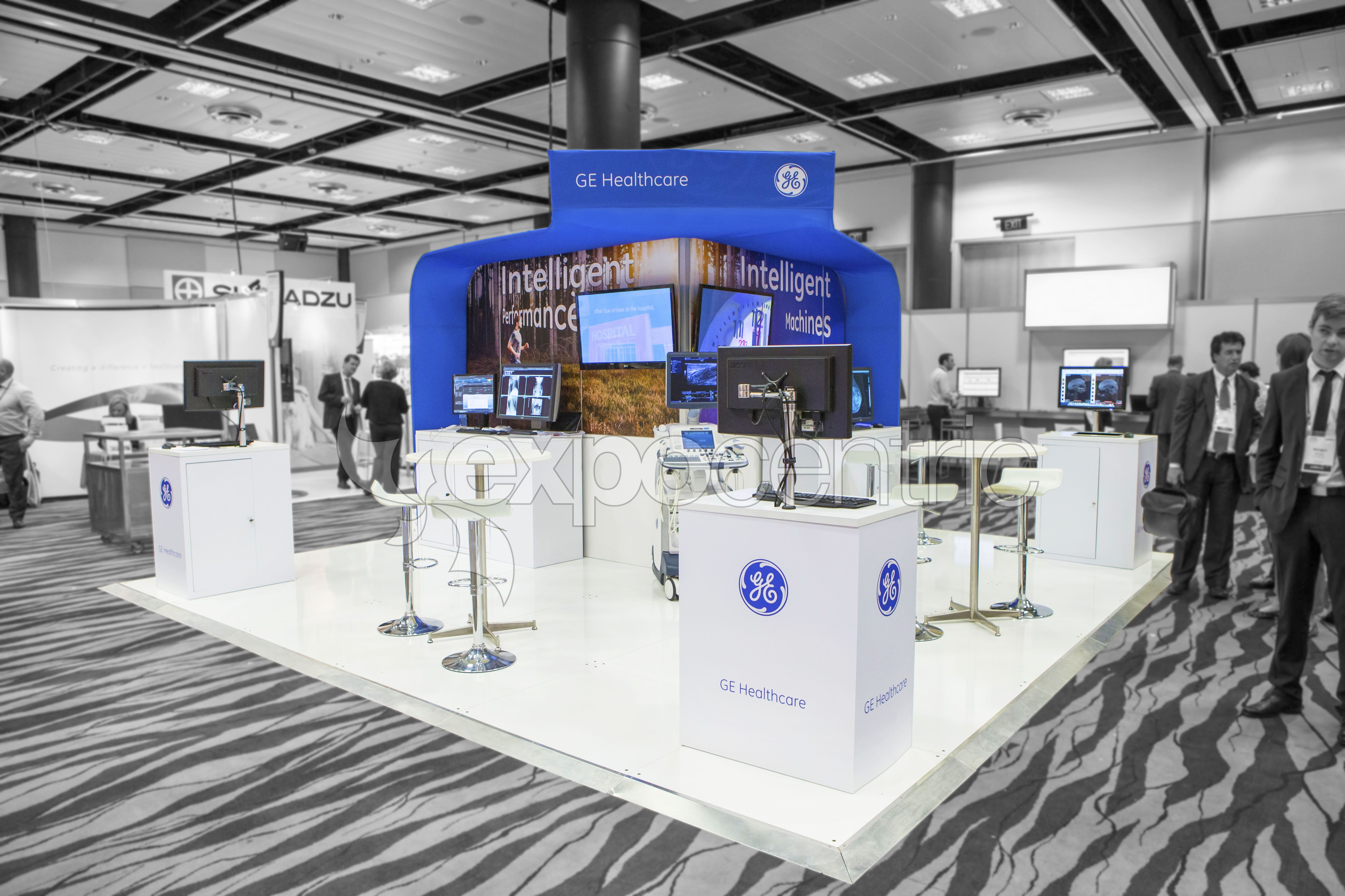 Ge Healthcare Exhibition Stand Designed And Constructed By Expocentric Expocentric Com Au Exhibition Stand Design Stand Design Exhibition Stand