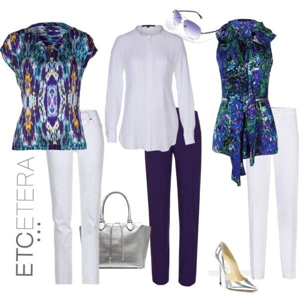 TOP THIS! We have the most incredible tops and blouses for every day and special occasions! www.etcetera.com Etcetera Summer 2013 - TOP THIS! by lcronican on Polyvore