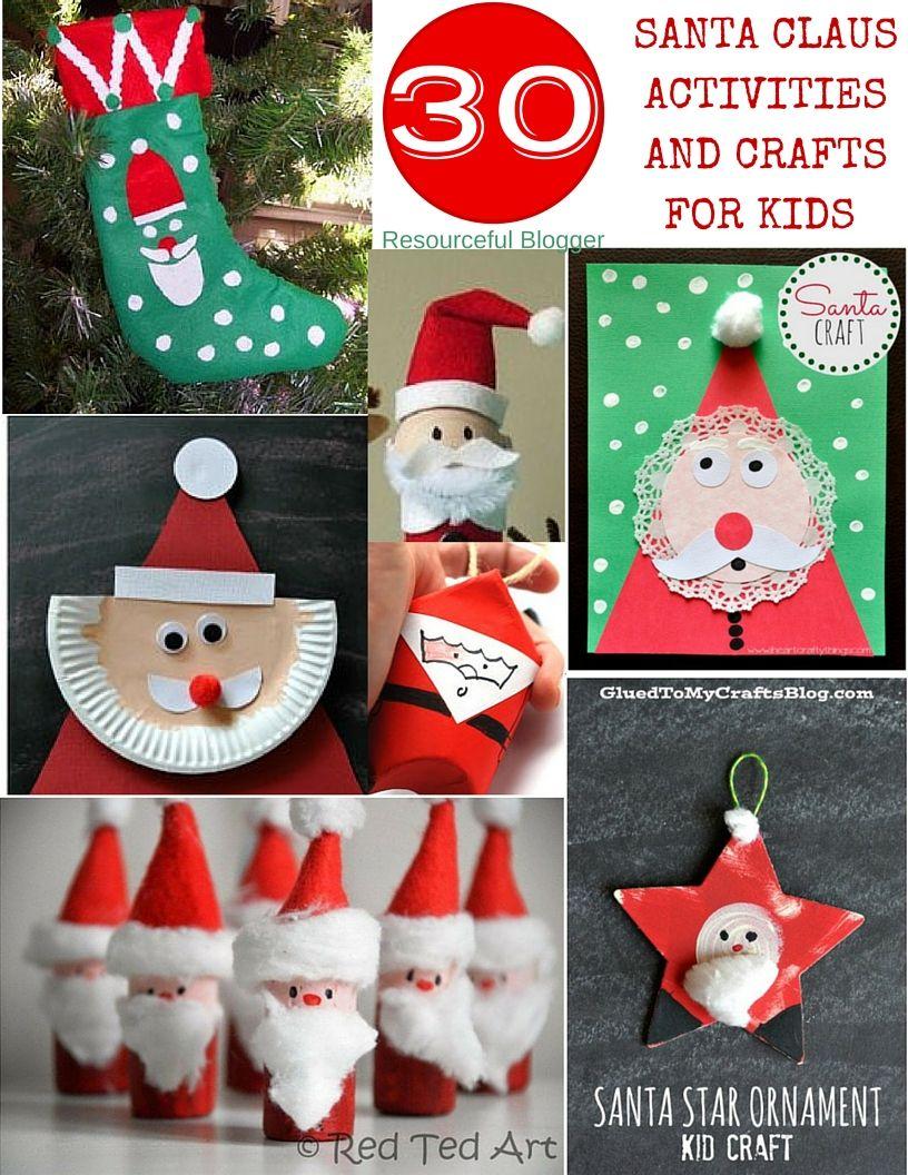 blogger - Santa Claus Craft