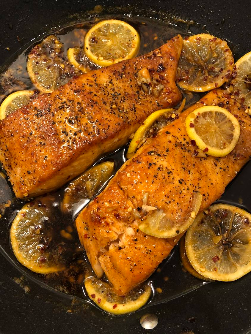 Weeknight Dinner's MVP: Honey Garlic Glazed Salmon