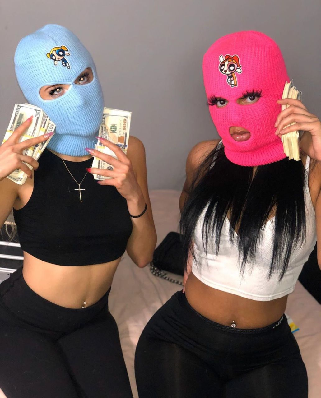 Wallpaper baddie gangsta ski mask aesthetic aesthetic masked girls wallpapers wallpaper cave etsy sellers. Image about girls in wavyy 😈👅💧 by 🦋 on We Heart It   Girl ...