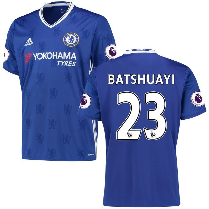 Michy Batshuayi Chelsea adidas 2016 17 Home Replica Player Jersey - Royal  White 5b4be88c0