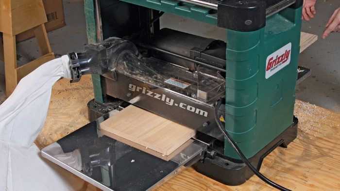 Tool Review G0832 Planer By Grizzly Finewoodworking Planing