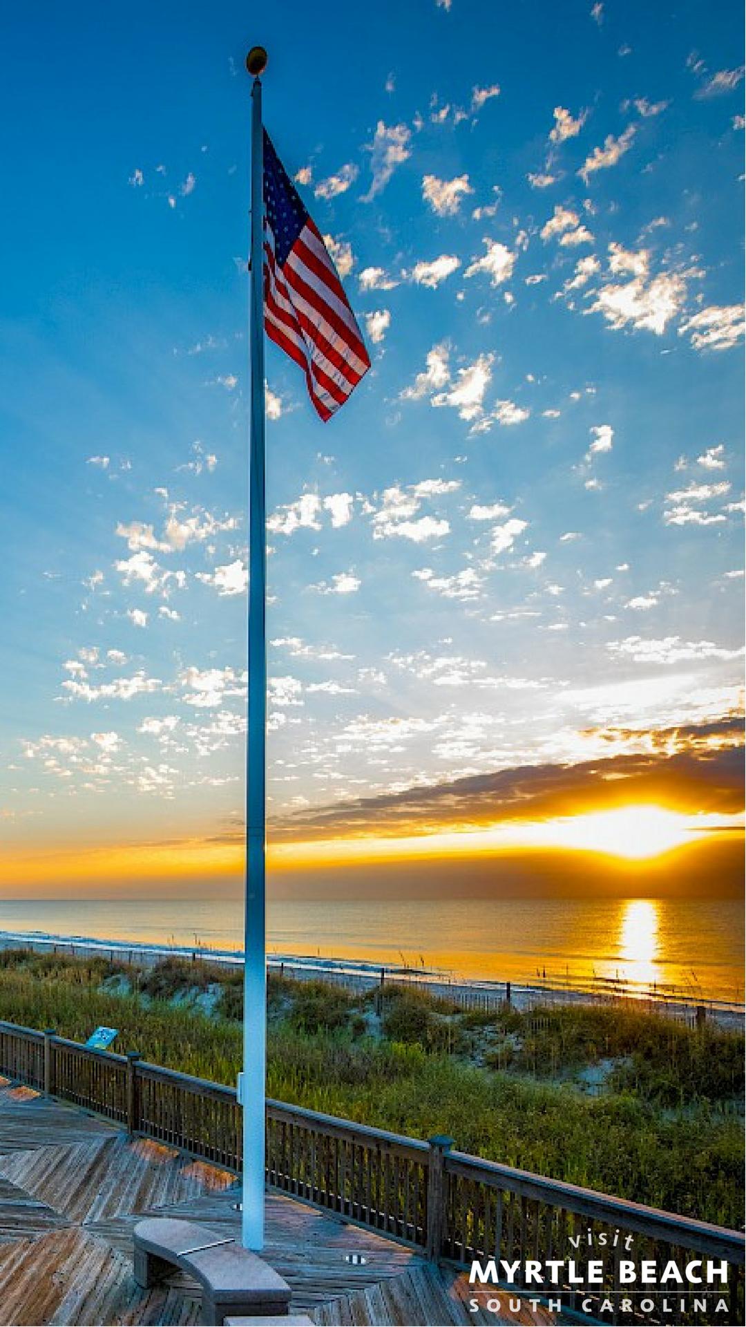 Visit Myrtle Beach Phone Wallpaper