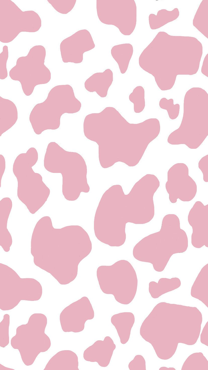 Pink Cow Print Alisakolesnyk Wallpaper Cow Pink In 2020 Cow Print Wallpaper Edgy Wallpaper Cute Patterns Wallpaper