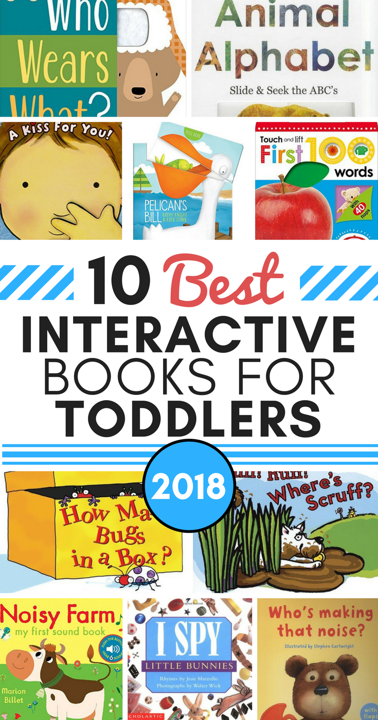 10 Best Interactive Books For Toddlers In 2018 Make Learning More