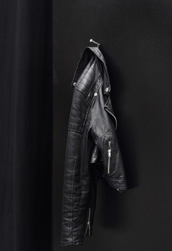 Black Leather Jacket | Colour