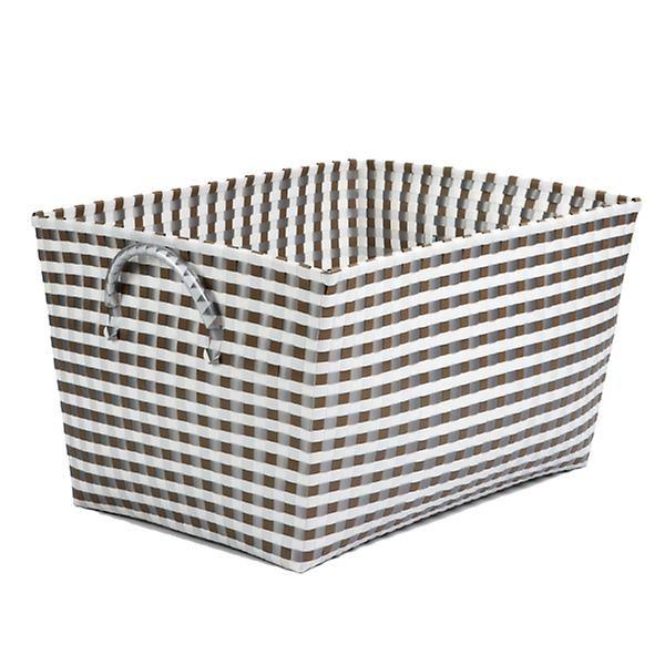Woven Nylon Laundry Basket Sorter Hamper Storage Container