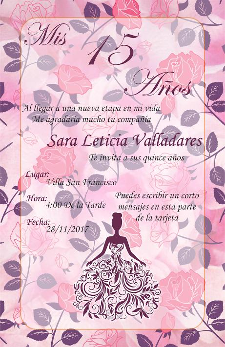 Pin De Mari Aguilera En Tarjetas De Invitación Diseño De